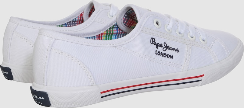 Pepe Jeans Sneaker in Canvas-Optik