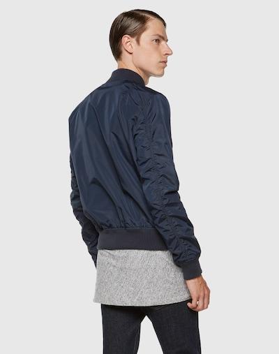 ALPHA INDUSTRIES Prijelazna jakna 'MA-1 TT' u tamno plava: Pogled straga