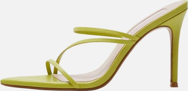 MANGO Sandaletten 'Dalia2-I Leder Billige Herren- und Damenschuhe