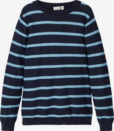 NAME IT Pullover in nachtblau / hellblau, Produktansicht