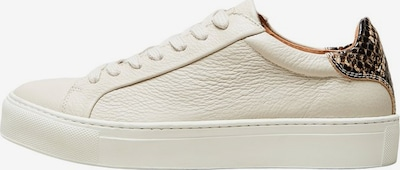 SELECTED FEMME Sneaker 'DONNA NEW CONTRAST' in offwhite, Produktansicht