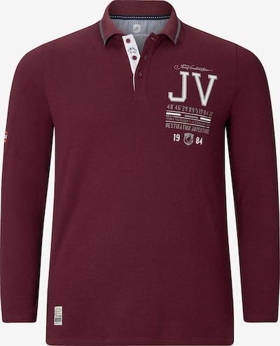Jan Vanderstorm Poloshirt 'Vedel' in dunkelrot, Produktansicht