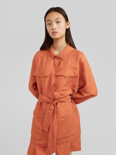 EDITED Prechodná bunda 'Carey' - hnedé / hrdzavohnedá, Model/-ka