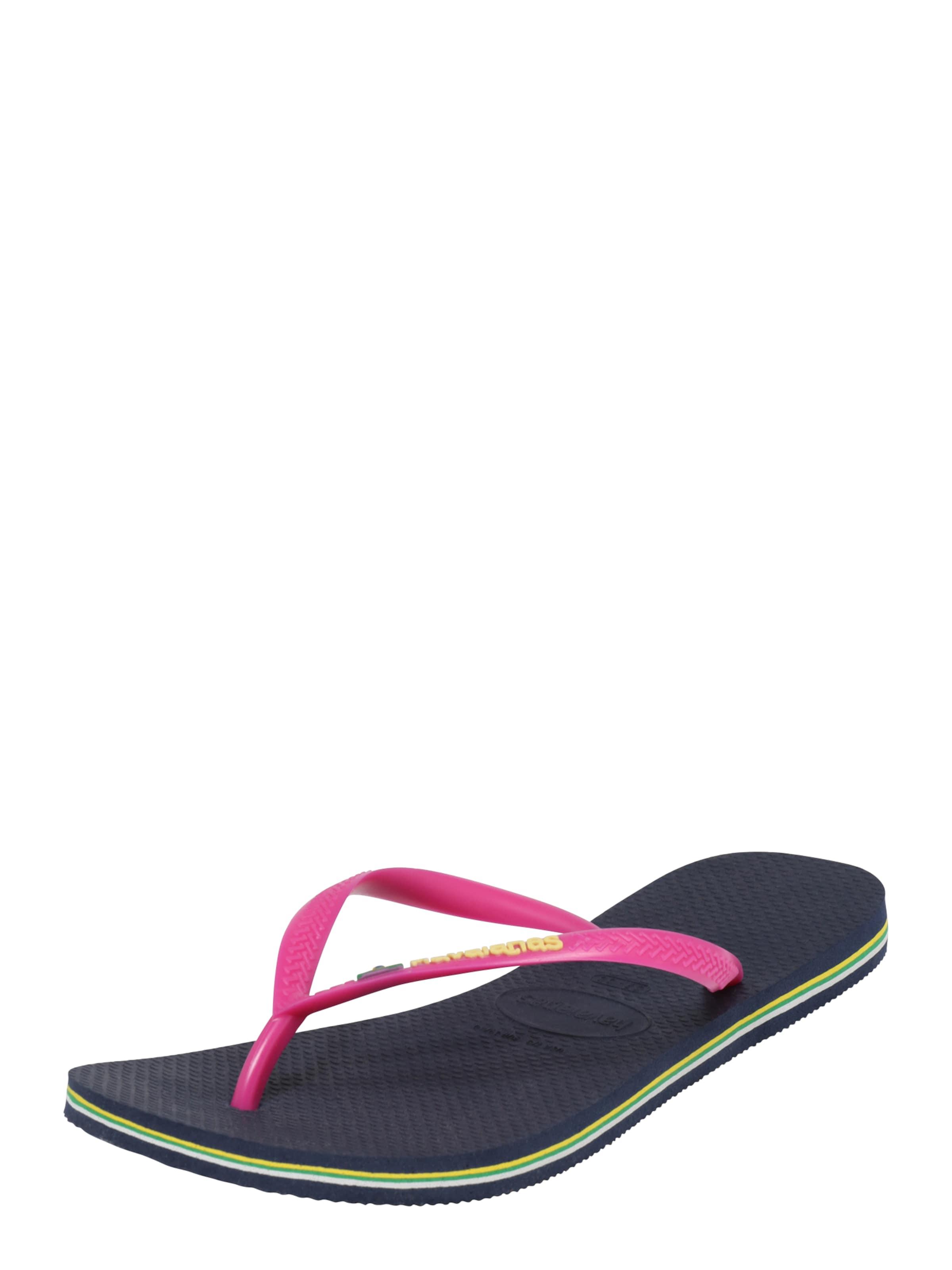 HAVAIANAS Pantolette SLIM BRASIL Verschleißfeste billige Schuhe