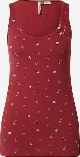 Ragwear Top 'KICK ORGANIC' in rot, Produktansicht