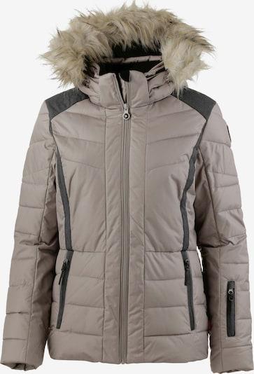ICEPEAK Skijacke 'Cindy' in khaki / schwarz, Produktansicht