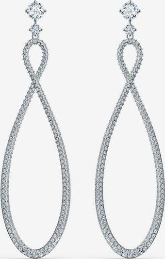Swarovski Paar Ohrstecker in silber, Produktansicht
