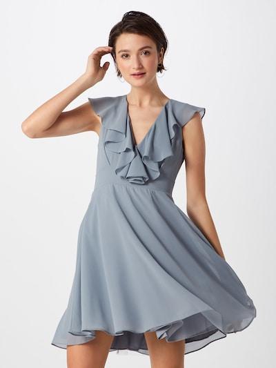 TFNC Kleid in blau / grau, Modelansicht