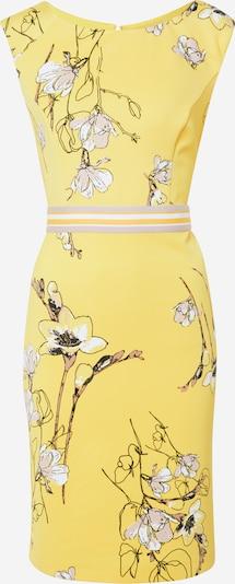 s.Oliver BLACK LABEL Kleid in gelb / mischfarben, Produktansicht