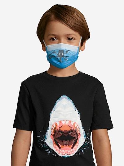 Mask with Attitude Stoffmaske 'Venenoso' in hellblau: Frontalansicht