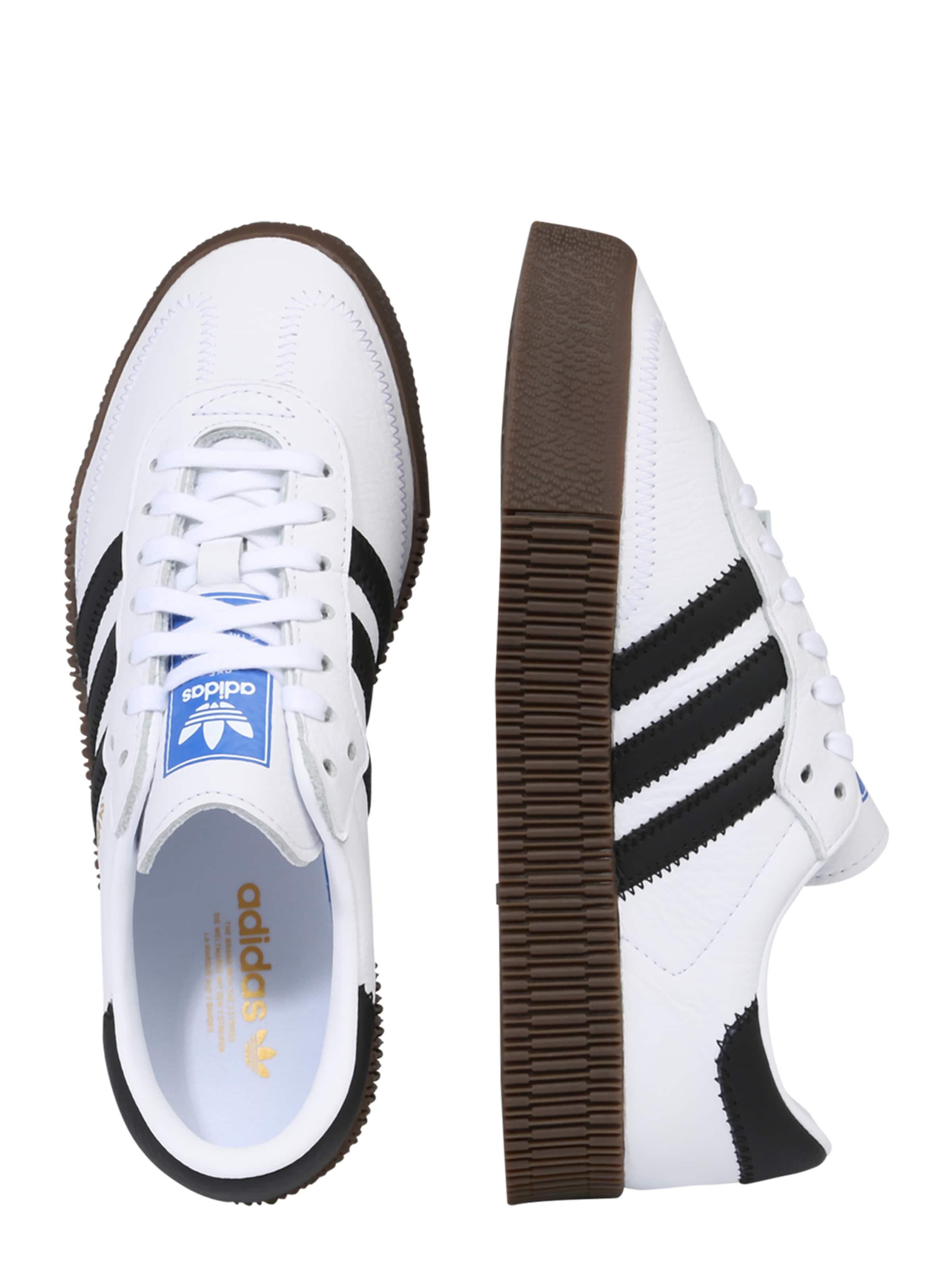 Adidas Originals 'sambarose' Sneaker SchwarzWeiß In eWD9Y2IEH