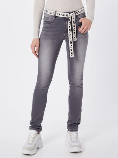 TOM TAILOR Jeanshose  'Alexa' in grey denim, Modelansicht
