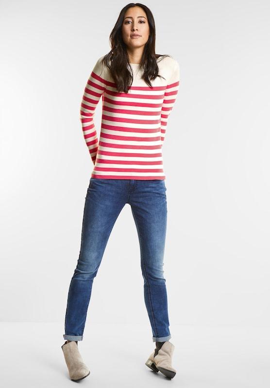 Street One Fine Trick Stripe Sweater
