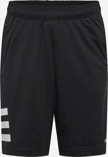ADIDAS PERFORMANCE Sporthose 'M D2M 3S SHT' in schwarz / weiß, Produktansicht