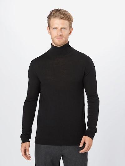 minimum Pullover 'Lashon' in schwarz: Frontalansicht