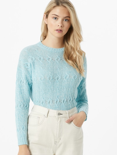 iBlues Pullover 'Boheme' in aqua: Frontalansicht