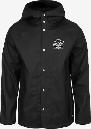 Herschel Regenjacke in schwarz, Produktansicht