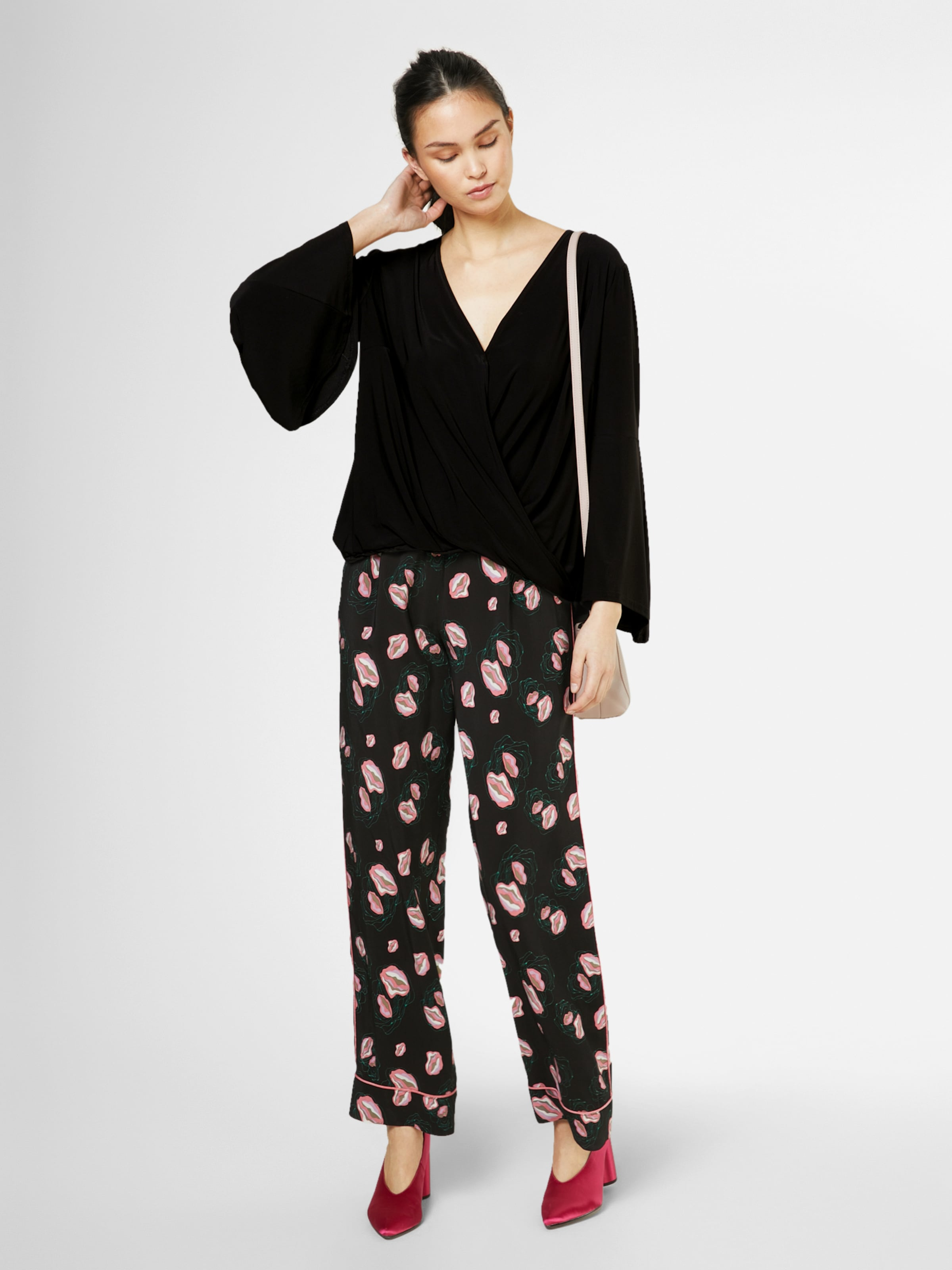 SISTERS POINT Bluse 'LIMO' Billig Verkaufen Mode Billig Verkauf Limitierter Auflage hAu3NgPZ