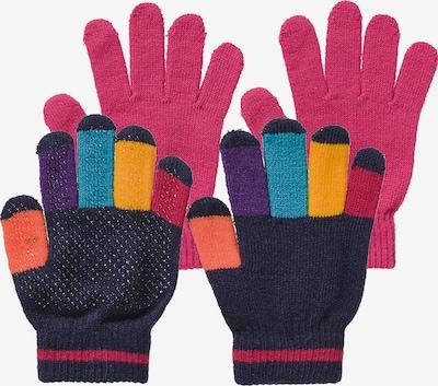 MAXIMO Fingerhandschuhe in mischfarben / pink, Produktansicht