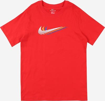 Nike Sportswear Shirt 'Triple Swoosh' in de kleur Rood, Productweergave