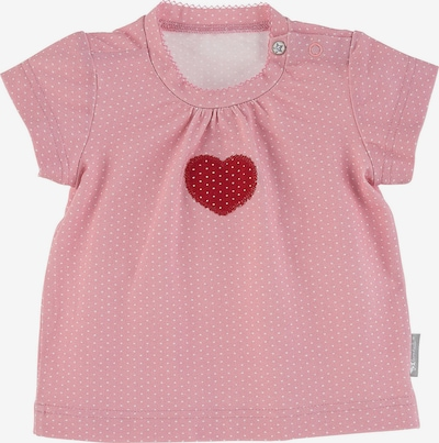 STERNTALER Tričko 'Herz' - starorůžová / červená, Produkt