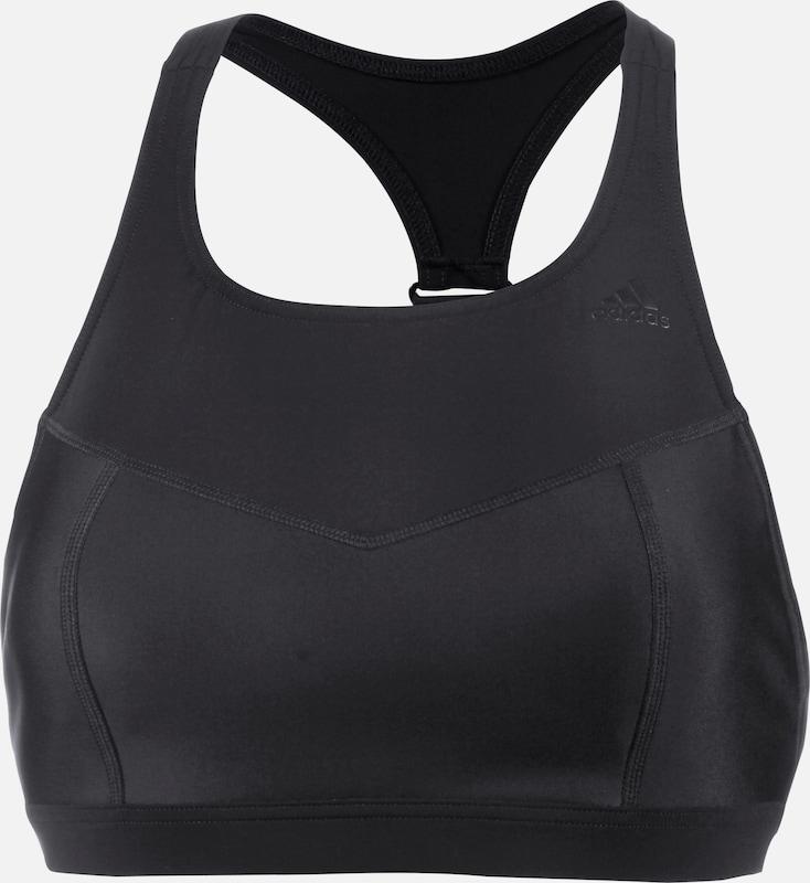 ADIDAS PERFORMANCE Bikinioberteil in schwarz  Freizeit, schlank, schlank