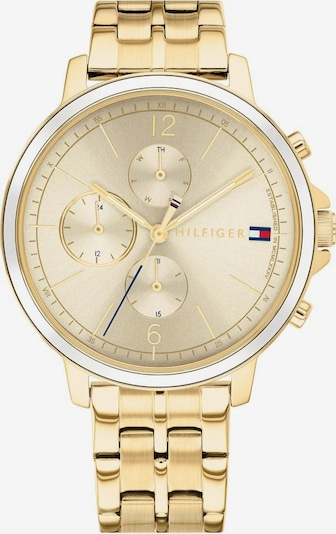TOMMY HILFIGER Uhr in gold, Produktansicht