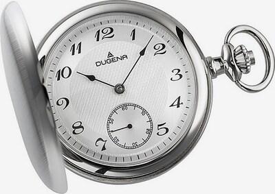 DUGENA Taschenuhr in silber / weiß, Produktansicht