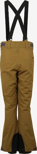 PROTEST Outdoorové kalhoty 'Oweny' - khaki: Pohled zezadu