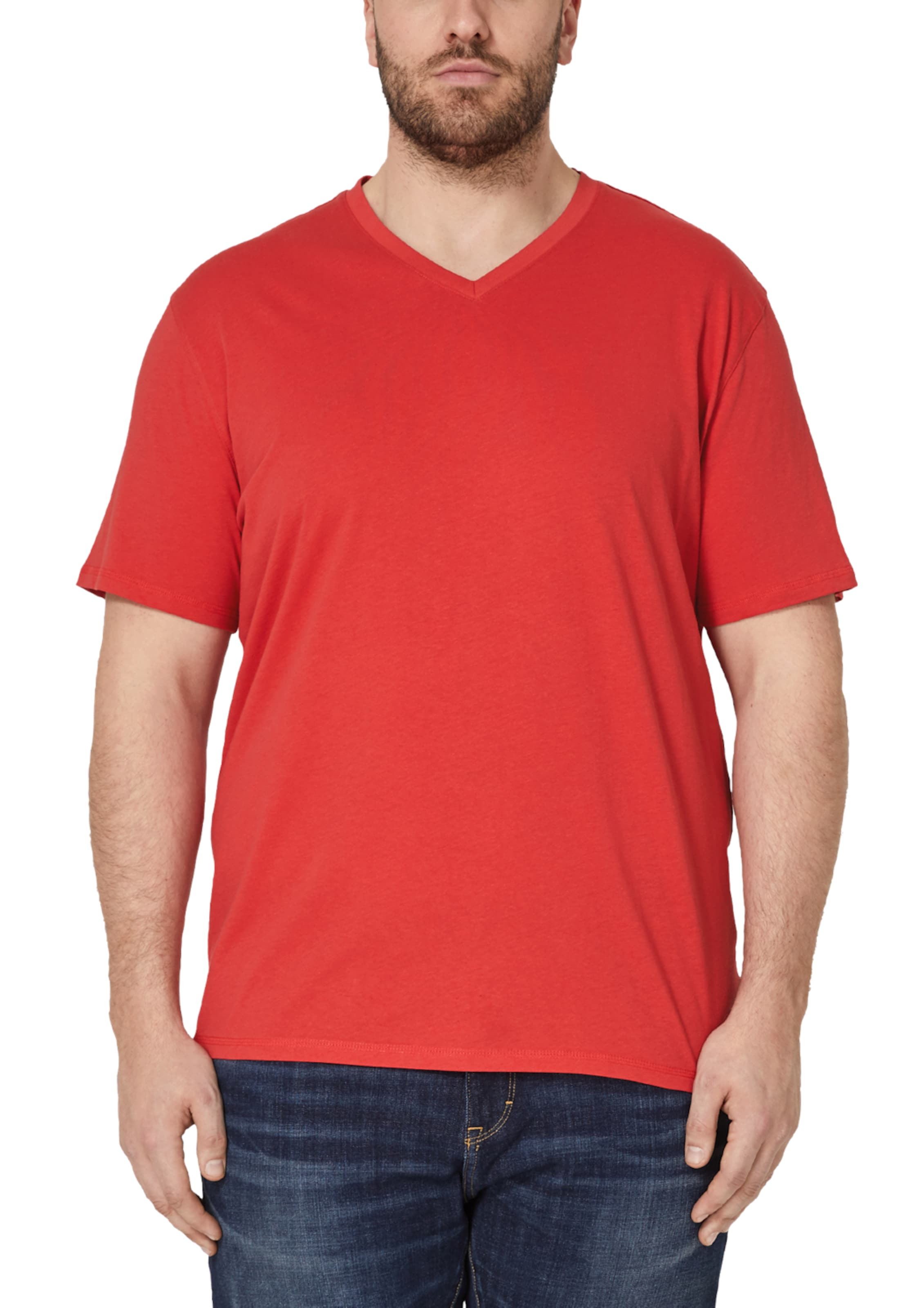 S Shirt Rot Label Red oliver In 54jRAL