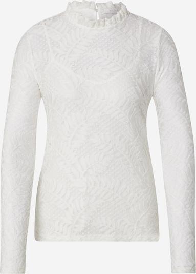 VILA Shirt 'VILEFFA L/S LACE TOP/1' in offwhite, Produktansicht