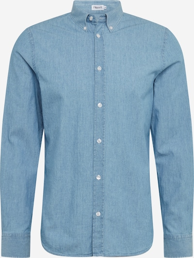 Filippa K Jeanshemd 'M. Lewis Chambray' in blue denim, Produktansicht