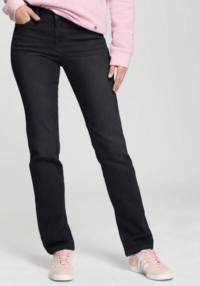 HIS JEANS Straight-Jeans in schwarz, Modelansicht