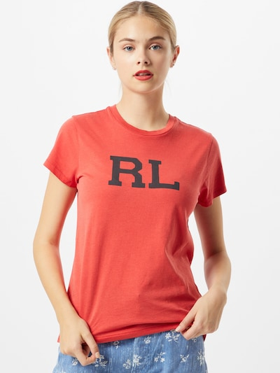POLO RALPH LAUREN Tričko - tmavomodrá / pastelovo červená: Pohľad spredu