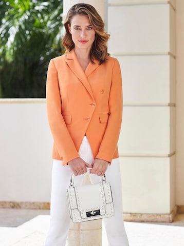 heine Blazer in Orange