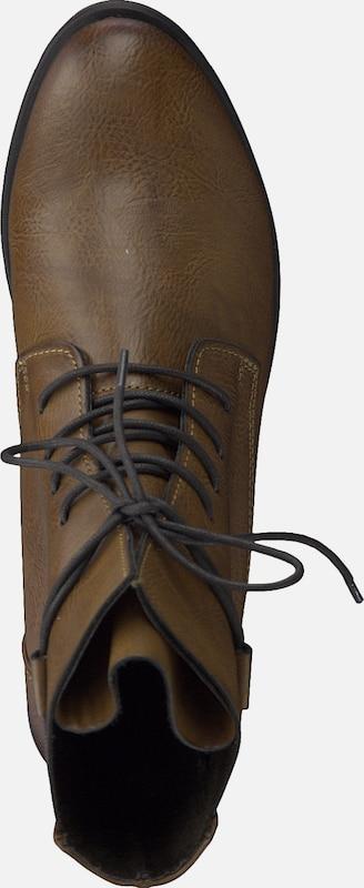 MARCO TOZZI   Schlichter 'Schnürstiefel Schuhe classy' Schuhe Gut getragene Schuhe 'Schnürstiefel bc06d0