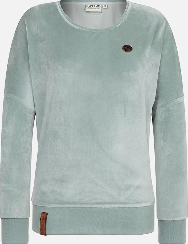 naketano female sweatshirt auf dem k chentisch in gr n about you. Black Bedroom Furniture Sets. Home Design Ideas