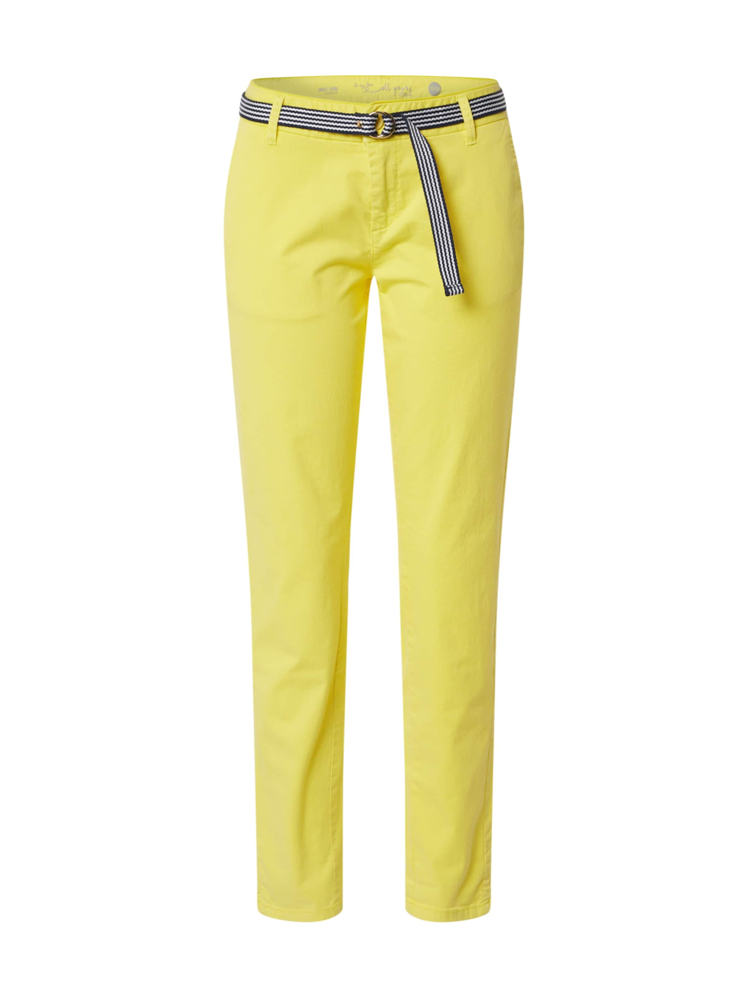 s.Oliver Byxa i gul / blandade färger
