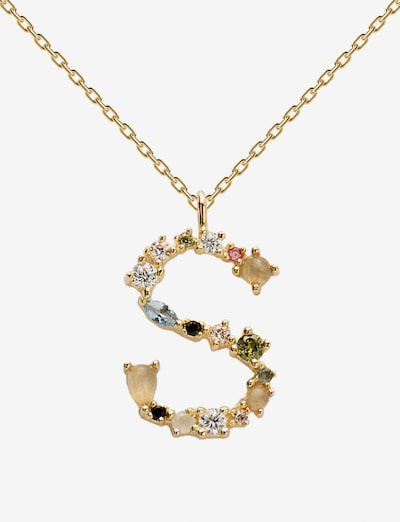 P D PAOLA Necklace in gold / mixed colours, Item view