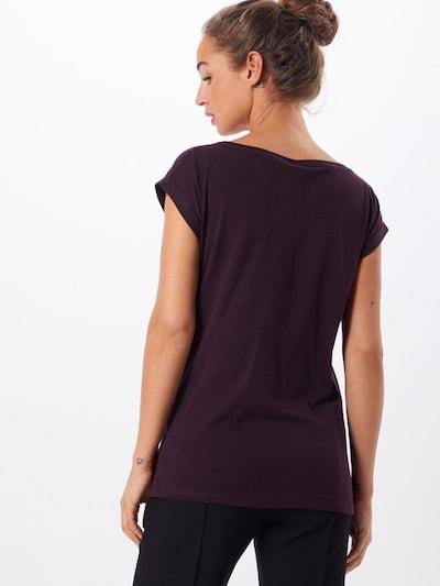 Iriedaily T-shirt 'Iriecat' en gris / prune / rose: Vue de dos