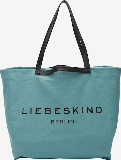 Liebeskind Berlin Shopper aus Canvas in hellblau, Produktansicht