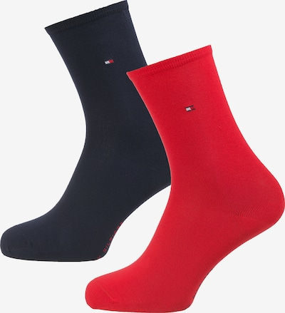 TOMMY HILFIGER Socken in navy / rot, Produktansicht