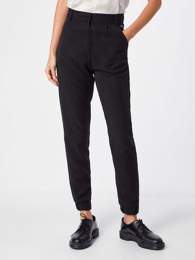 Kelnės 'Damara' iš tigha , spalva - juoda: Vaizdas iš priekio