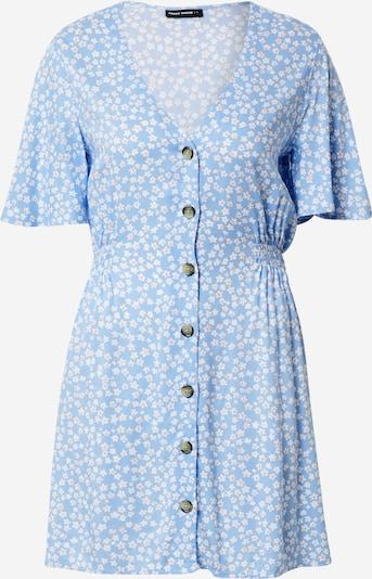 Tally Weijl Poletna obleka 'WOVEN' | svetlo modra / bela barva, Prikaz izdelka