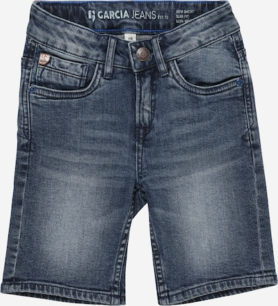 GARCIA Shorts '375 col.3097_Xevi short' in blue denim, Produktansicht
