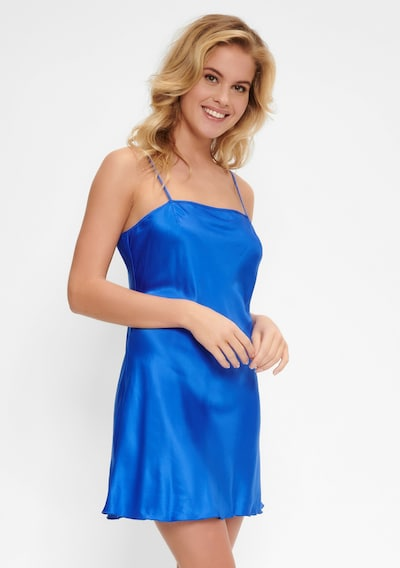 LingaDore Kleid 'DAILY' in blau: Frontalansicht