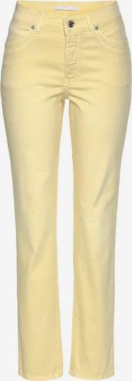 MAC Gerade Jeans »Melanie New« in hellgelb, Produktansicht