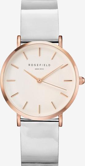 ROSEFIELD Uhr in rosegold / hellgrau, Produktansicht