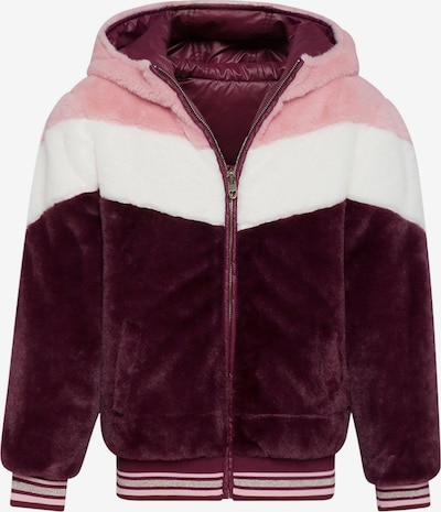 WE Fashion Wendejacke in beere / rosa / weiß, Produktansicht