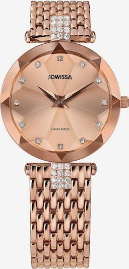 JOWISSA Quarzuhr 'Facet Strass' in rosegold / silber, Produktansicht